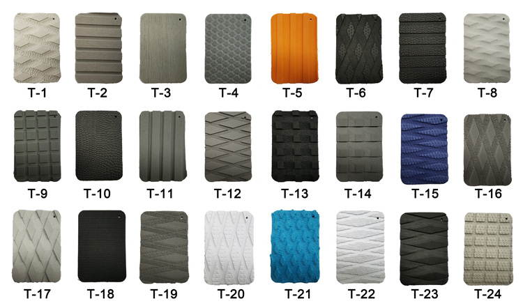 EVA Traction Mats colors