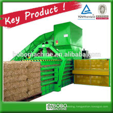 AUTOMATIC HORIZONTAL HYDRAULIC STRAW BALING MACHINE