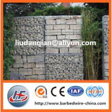 1mx0.5mx0.5m heavy duty galvanized welded gabion box for garden furniture (manufacture)