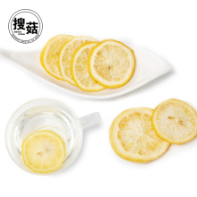 Bulk vacuum packing freeze dried lemon chips