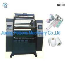 Machine de rebobinage de fente de rouleau de caisse enregistreuse de nouveaux arrivants