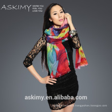2015 custom design chinese scarf