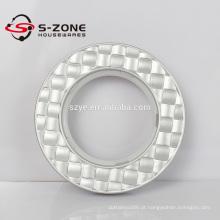 2016 Último tamanho personalizado 43MM cortina Round anel ilhó