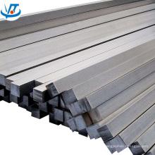 Finition HL de tige carrée en acier inoxydable étiré à froid 14x14mm