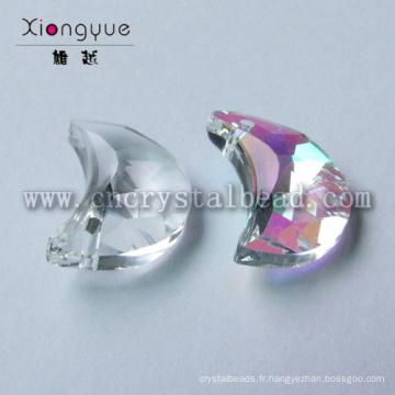 Cristaux de lune forme perles bijoux à vendre