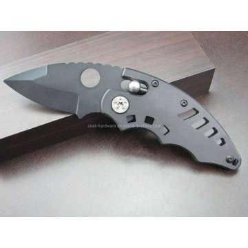"""5.7 """"cuchillo curvado de aluminio de la manija (SE-036)"""
