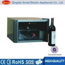 Refrigerador do mini bar do hotel, mini refrigerador do vinho da parte superior contrária