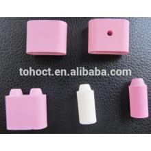 Industrial usage 95%Alumina flexible Ceramic Heating Bead pad for heating element