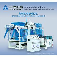 Pequeña fabricación de cenizas volar / ladrillo de producción de la máquina de venta