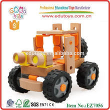 2015 Top Sale Творческая модель Игрушки Комбинация Деревянный Инструмент Автомобильная Игрушка Игрушка