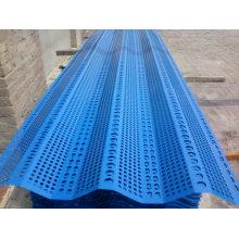 Maille anti-vent et anti-poussière utilisée comme feuille de toiture