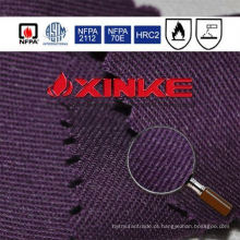 C / N resistente à chama de alta qualidade ternos tecido com alta solidez da cor