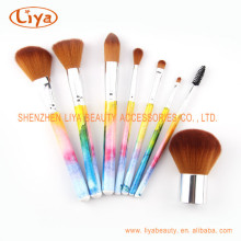 Heat Transfer Printing Wooden Handle Cosmetic Brush