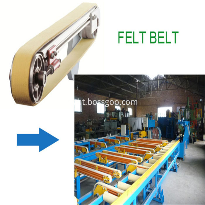 Kevlar Seamless Conveyor Belt For Cooling Table