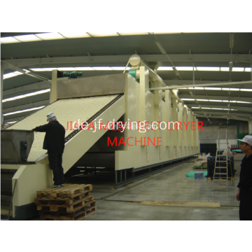 Penetrating Mesh-Belt Dryer Maschine