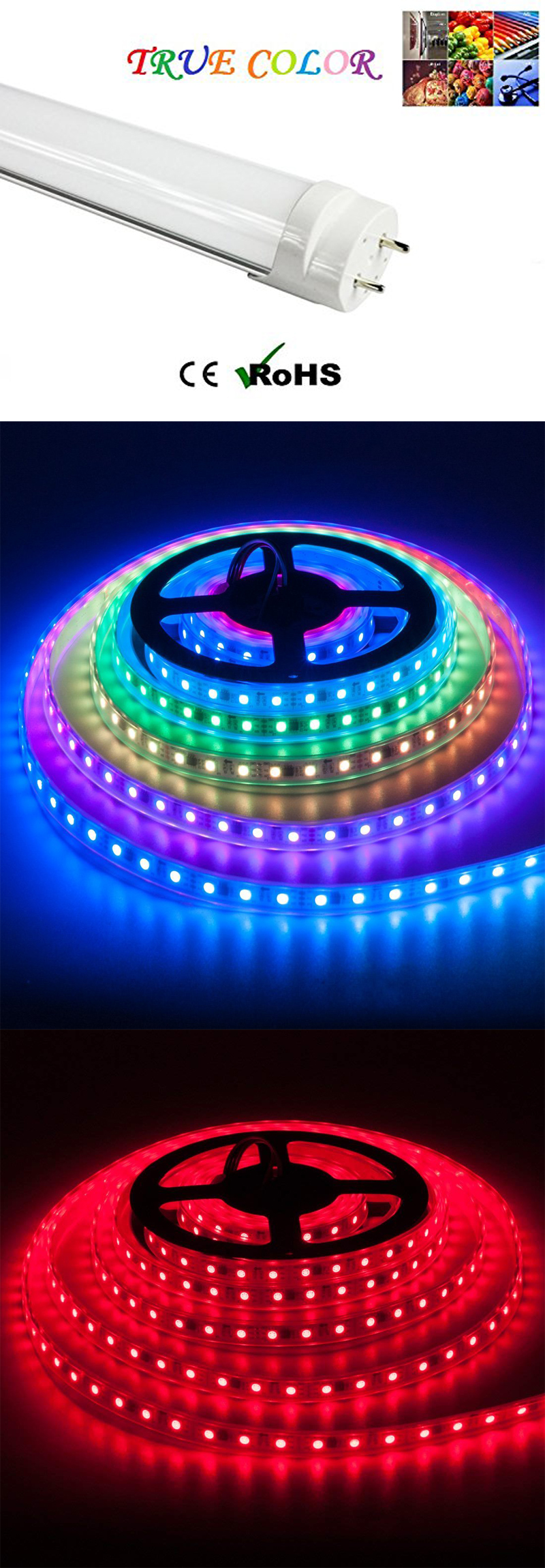 color led tube