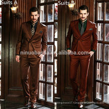 Exquisite 2014 Pure Color New Men's Fashion Tuxedo Suits For Wedding Button Pockets Business Suits NB0557