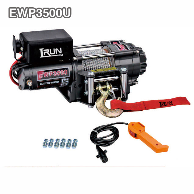 Separated Control Box Electric UTV Winch
