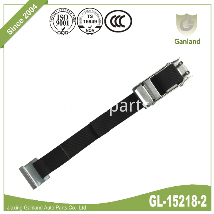 Over-center Buckle Strap Flat Hook GL-15218-2