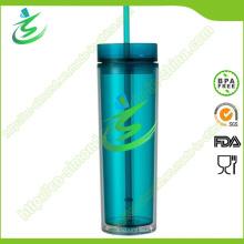 16 Unzen BPA-Free Acryl Cup mit Stroh, als Cup