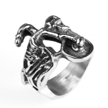Hot sale Stainless steel human bone bicycle ring