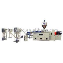 Ligne de compoundage et de granulation en plastique