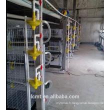 Vanne de régulation de pression de ligne d'eau pour le poulet de bétail
