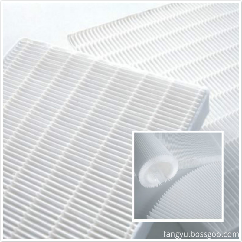 Polypropylene Mini Pleat Filter Media