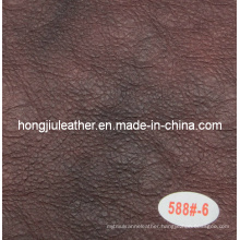 Dark Crumpled Sipi Sofa Leather