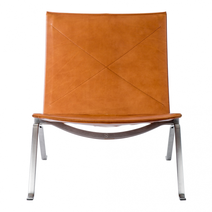PK22 Easy Chair by leather