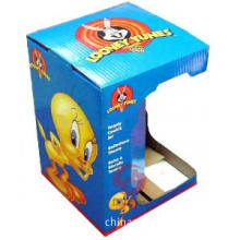 Mini Children Toys Duplex Corrugated Mounting 157GSM Paper Custom Printed Cardboard Boxes