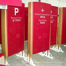 Pilão Direcional Sinais Public Light Box