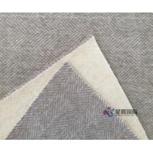 Herringbone Woolen Fabric For Winter Coats
