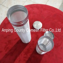 304 Stainless Steel Brewing Beer Strainer Cylinder