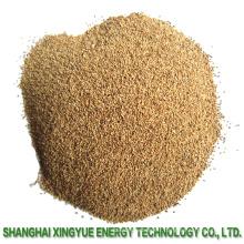 Abrasifs de sable de coquille de noix pour le nettoyage de surface en plastique