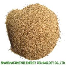 Abrasivos De Areia De Noz Shell Para Limpeza De Superfícies Plásticas