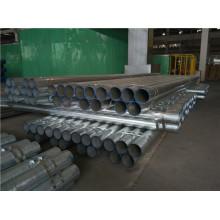 UL FM caliente DIP galvanizado Sch10 Sch40 tubo de acero