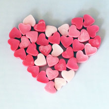 Heart Shaped Wax Scented Wax Heart Melt Scented Wax Melts