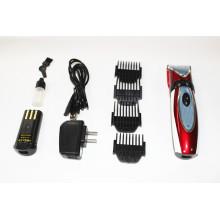 Mais novo sem fio aparador elétrico recarregável máquina de cortar cabelo