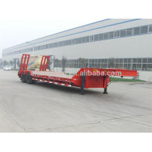 Doble Axles Baixa Cama Semi Reboque Carga Capcity 30 Ton