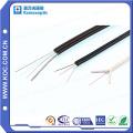 FTTX Fibra Óptica Drop Cable 1/2/4 Núcleo