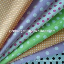 100% Cotton Dye/print 140*72/CM40*CM40 high Quality from VIETNAM
