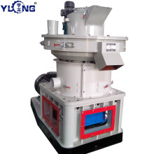 YULONG XGJ560 Poplar wood pellet making machine
