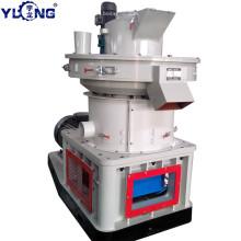 YULONG XGJ560 Машина для производства древесных гранул из тополя