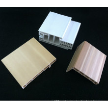 Marco de puerta de PVC Combo Df-I95h40 + PVC Architrave Marco de puerta de WPC Architrave