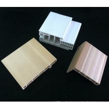 Quadro de porta combinado do PVC Df-I95h40 + Architrave do quadro de porta do Architrave WPC do PVC