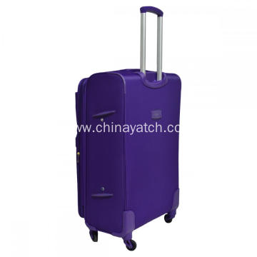 Aluminum Spinner Trolley Nylon Material Trolley Luggage