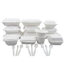 Bioleader 100% Biodegradable Bagasse Products Dinnerware Sets