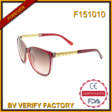 F151010 Top venta de gafas de sol de marca mujer