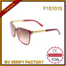 F151010 Top продать бренд женщин солнцезащитные очки